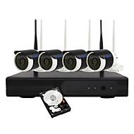 Ianse® 1tb 960p wireless wifi câmera de vigilância set ip camera nvr kit sistema de segurança home 1.3mp