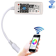 Atualizado wifi controlador led sem fio para rgb levou stripworkwork com android / ios telefone celular16 milhões de cores 20 modos