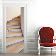 נוף מדבקות קיר מדבקות קיר תלת מימד מדבקות קיר דקורטיביות חוֹמֶר קישוט הבית מדבקות קיר