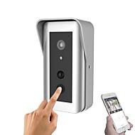 Yanse 960p slim ip wifi deurbel met batterij thuis systeem draadloze visuele intercom anti-diefstal deurbel camera (tamper app alarm)