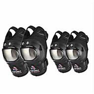 Madbike b01 Motorrad Knie Schutzausrüstung kurzen Abschnitt der Leggings Motorrad Pflege Ellenbogen 4 Sätze von Ritter Ausrüstung Männer