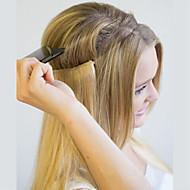 """20 """"-os láthatatlan huzal flip az emberi hajhosszabbításokban egy darab kézieszköz-kiterjesztés 100g"""
