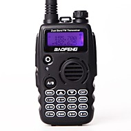 Baofeng uv-a52 walkie talkie uhf vhf banda dupla bf a52 cb rádio 128ch vox camo color transceptor de display duplo para rádio de caça