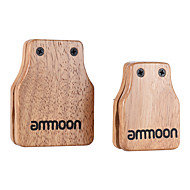 grote ammoon&Medium 2st cajon box drum companion accessoire castanets voor hand percussie