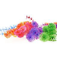 Décoration d'aquarium Plante d'eau Plastique