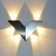 6 LED Intégré LED Nouveauté Fonctionnalité for Style mini Ampoule incluse,Eclairage d'ambiance Applique murale