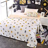 Super Suave Desenhos Animados Combinação Poliéster/Algodão cobertores