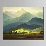 Ručně malované Krajina Horizontální,Moderní Jeden panel Plátno Hang-malované olejomalba For Home dekorace