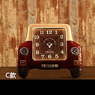 Moderne / Nutidig Andre Wall Clock,Andre Metall 49*42CM(19.5inch*16.5inch)*1PC Innendørs Klokke