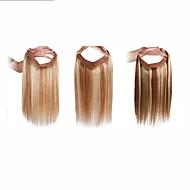 """20 """"-os rejtett titkos vezeték egyenes 100% -os emberi haj kiterjesztése könnyen kopás 120g"""