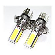 25w cob led 360 degrés h4 lampe à phare ampoule lumière blanche