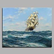 Ručně malované Slavné Horizontální,umělecké Klasický styl Klasické Módní a moderní Obchodní a kancelářský Cool Jeden panel Plátno