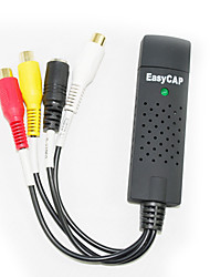 easycap adaptador de audio + vídeo