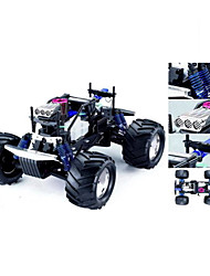 1:8 RC Nitro Gas Twin GP28 engine 4WD 3-speed Gearbox Monster Mega Truck (YX01144)