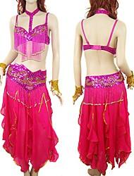 vêtements de danse du ventre sexy pantalon top set - tous les accessoires included9818 (lyy018)