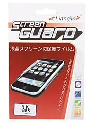 protetor de tela sem brilho do LCD para o Nokia N85 (w / pano de limpeza)