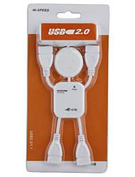Самоклеющийся 4 портовый USB 2.0 концентратор