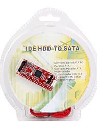 IDE a SATA 100/133 tarjeta de convertidor para HDD / CD / DVD