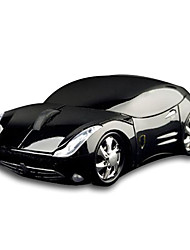 Mini USB Car Style Optical Wired Mouse (Black)
