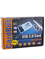 2 ports USB 2.0 Extension de carte PCMCIA pour les ordinateurs portables