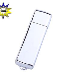 Metallic Mini USB 2.0 Jump/Flash Drive Keychain (1GB)
