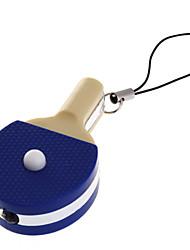 Table tennis bat Sharp LED Keychain Flashlight