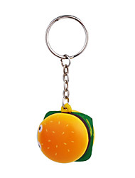 Bread Style Keychain with Soft Plastic Material