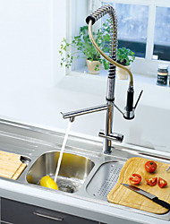 Single Handle Chrome Centerset Kitchen Faucet (0572 -8076)