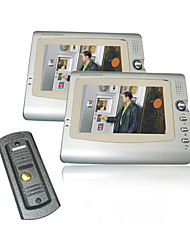 7 Inch Screen Visual Digital Video Doorphone With 2 Monitors(0785-VDP 311-202-311)