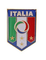 emblema do metal itália futebol