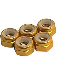or écrou de blocage en aluminium de 5 mm (57115a)