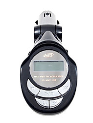 carro mp3 player Transmissor FM com SD e controle remoto IR (SD / MMC / usb port/mp3)