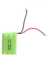 interface universal 3.6v 800mah bateria Ni-MH para telefone sem fio (Ni-MH (3.6V 800))