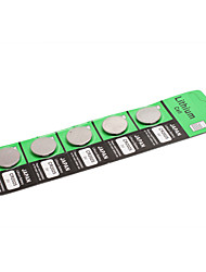 Japan CR2025 3V Button Battery (5 pieces)