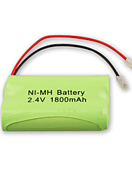 Universal Interface Cordless Phone Batteries 2.4v 1800mAh Rechargeable NI-MH Batteries(NI-MH(2.4V1800))