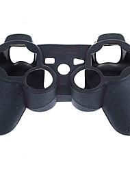 schwarze Schutzkappe Silikonhülle für PS3 Controller