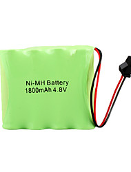 Ni-MH 4.8v 1800mah bateria recarregável (hb028)