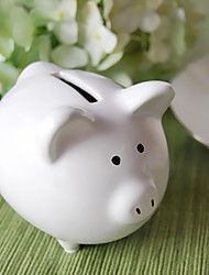 Ceramic Baby Piggy Bank Party Gift/Favor