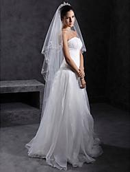 1 couche de voile de mariage cathédrale (1082-ts415)