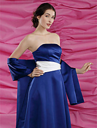 Wedding  Wraps / Shawls Shawls Satin Royal Blue Party/Evening