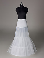 Nylon Mermaid and Trumpet Gown 2 Tier Floor-length Slip Style/ Wedding Petticoats