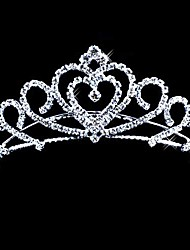 Headpieces Alloy With Czech Rhinestones Bridal Tiara