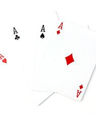 magia montar quatro cartas mágicas (mudar todas as cartas para ace)