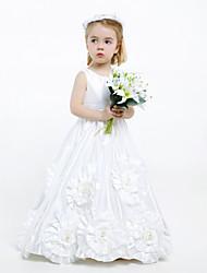 HAUKEA - Vestido de Florista de Tafetán