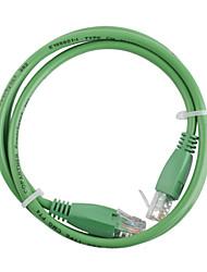 RJ-45 4 paire brin 1m de câble réseau vert