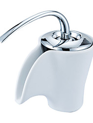 Chrome Single Handle Centerset Bathroom Sink Faucet(1039-MA1063)