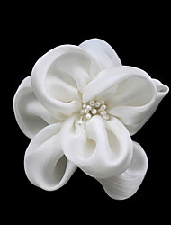 Women's Satin/Imitation Pearl Headpiece - Wedding/Casual/Special Occasion Flowers