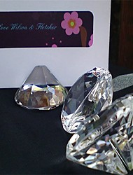 Crystal Place Card Holders Gift Box