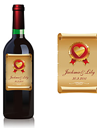 Personalized Bottle Labels - Paper Roll (pack of 30)