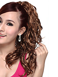 Long High Quality Synthetic Curly Ponytail-Two colors
